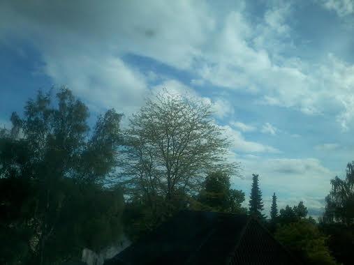 Himmel über Nadine